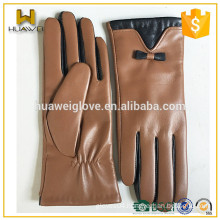 Fashion Accessories !!Winter Fashion Dress Leather Glove with two colors