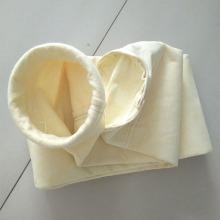 Dust collection high temperature glass fiber filter bag