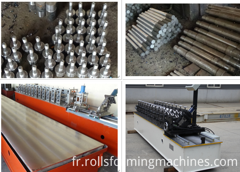 The raw material used in this 60 27 27 28 ceiling stud roll forming machine line