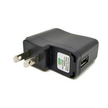 Cargador de CA de los EEUU con la cuerda del USB