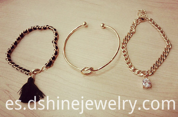 Personalized Gold Bangle