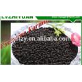 Abono granulado negro de urea