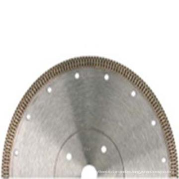 Hojas de sierra de corte de diamante soldadas con láser para azulejos / cerámica / mármol