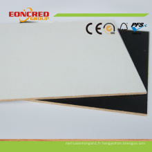 E1 mélamine MDF 1220 * 2440mm pour meubles et armoire