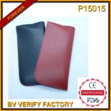 Мягкая и кожаная очки случае с сертификация Ce (P15015)