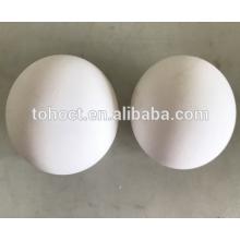 Bola cerâmica da incerção da alumina Al2O3 de 99% / meios de moedura cerâmicos da bola