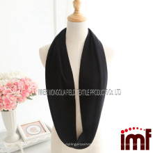 Warm Schwarz 100% Cashmere Infinity Loop Schal