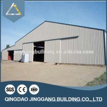 Edifício de aço pré-fabricado de alta qualidade de baixo custo