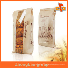 Bakery Fast Food Packaging Printed Paper bakery packaging with Window