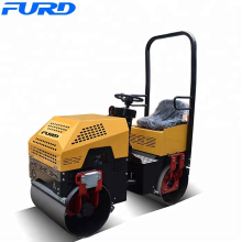 Water Cooled Diesel Ride On mini Compactor Road Roller(FYL-880)