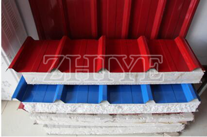 Roofing / Wall Sandwich Panel Roller Mantan Mesin