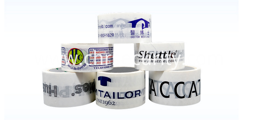 Packing adhesive tape for colorful