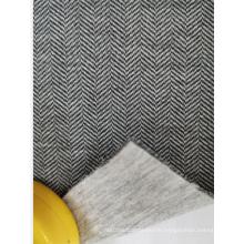 Herringbone Twill Scuba Knitting Fabric