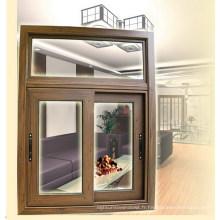 De Bonne Qualité Fenêtre de verre à battants en aluminium / aluminium