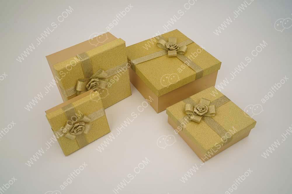 Golden Clothing Box