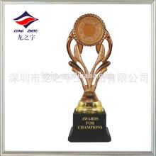 Design trophée abstrait trophée style trophée blanc pour souvenir