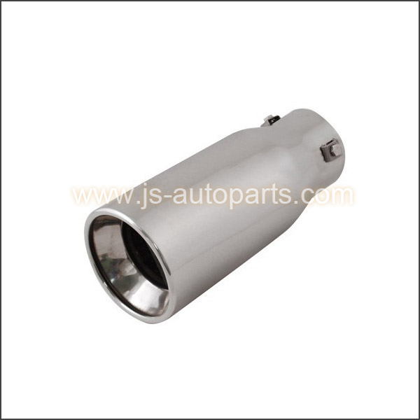 INLET 2.875 OUTLET 3.75 STRAIGHT CUT RESONATED EXHAUST TIP