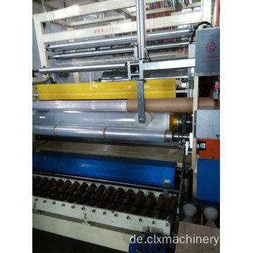 Standardgeschwindigkeit 1500mm Stretchfolie Maschine