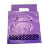 PE film packing bag with handle, Eco-friendly, good-looking, multiple use