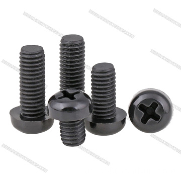 M3x6mm phillips Black Nylon Screws