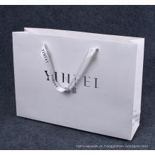 Saco de papel comercial impresso com logotipo UV