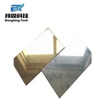 Miroir parabolique hautement réfléchissant poli miroir couleur aluminium feuille