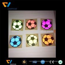 China EN471 bunte Werbeartikel 3M PVC Reflektor Aufkleber für Fahrrad