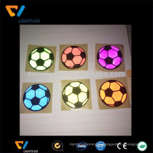 Chine EN471 coloré autocollants promotionnels de réflecteur de PVC 3M pour la bicyclette
