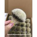 22mm Bulb Silvertip Badger Hair Knot