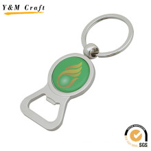 Promotional Gift Custom Keychain Metal Beer Bottle Can Opener