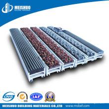 Экструдированный алюминиевый входной коврик из ПВХ (MS-660)