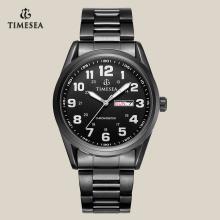 Qualidade punho aço inoxidável relógio de quartzo para homens 72090