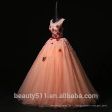 2018 новый quinceanera платья на заказ элегантный бальное платье кружева платья партии quinceanera платье ED538