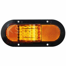 6inch Oval Side & MID Turn/Marker Light for Heavy Duty Truck and Trailer