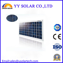50W Colourful Poly Solar Panel for Solar Light