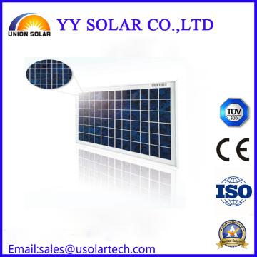 Panneau solaire polyvalent coloré 10W 20W 30W personnalisé personnalisé