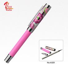 Canetas Fabricadas na China Custom Logo Metal Roller Pen