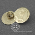 Gold Plated Round Lapel Pin, Organizational Badge (GZHY-LP-017)