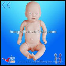 ISO avanzado de alta calidad Vivid modelo educativo médico del bebé Bebé recién nacido simulador del bebé de la muñeca