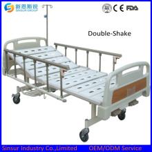 Руководство 2 Кренк алюминиевого сплава Сидерический медицинский кровать / кровати