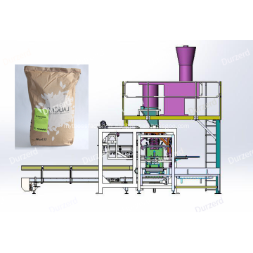 Machine d'ensachage automatique de bouche ouverte de poudre de 25KG