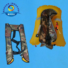 Military safety Inflatable Life Jacket