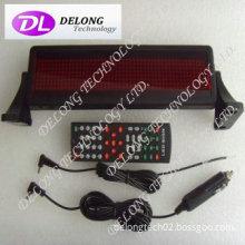 12V 8X48pixel P4.75mm scrolling message brake led sign,multi-language