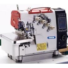 Máquina de costura de Overlock automático inteligente de computador inteligente