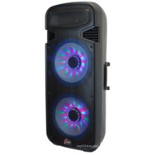 Haut-parleur Karaoke KPA chaud avec trois lumière colorée