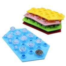Custom Colorful Silicone Ice Tray Untuk Minuman