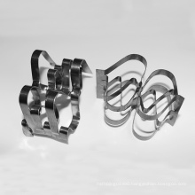 SS304 SS316L Metal super raschig ring for chemical tower packing