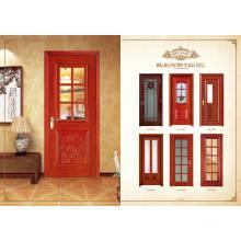 Porta de madeira interior / porta MDF