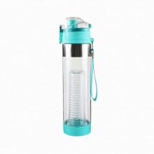 Nuevo Arrivel BPA Free Tritan Material Drinking Fruit Infuser Botella de agua