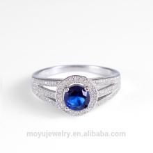 El oval 3 colores jewelley indio de las mujeres cristalinas del anillo vende al por mayor Reino Unido